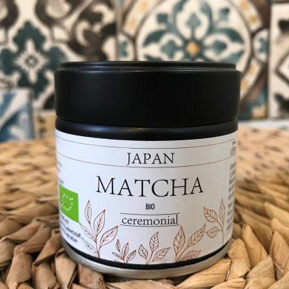 matcha ceremonial ecológico