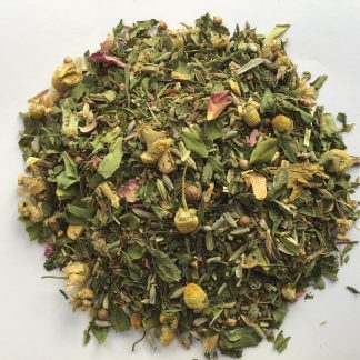 hemp with herbs